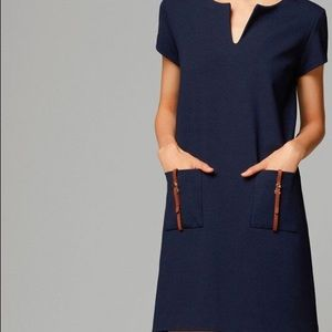 MASSIMO DUTTI Shift Mini Dress